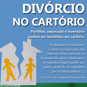 Como dar entrada no Divorcio no Cartorio
